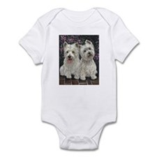Best Friends White Infant Bodysuit
