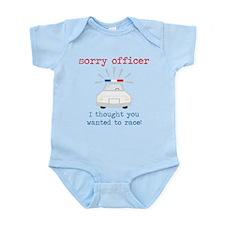 Sorry Officer Infant Bodysuit