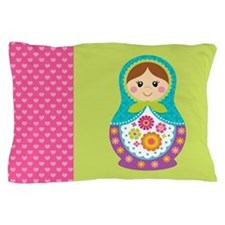 Unique Nesting doll Pillow Case