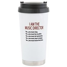 Music Director Ceramic Travel Mug
