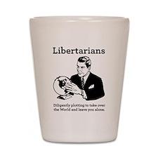 The Libertarian Plot Shot Glass
