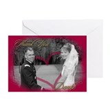 Cool Wedding thank you Greeting Cards (Pk of 10)
