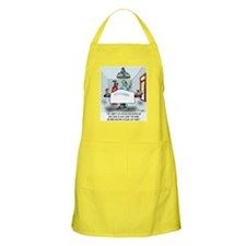 Say, Aren't You The Inspector ... Apron