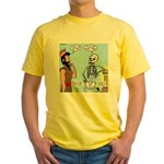 Uzzah's Very Bad Day Yellow T-Shirt