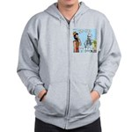 Uzzah's Very Bad Day Zip Hoodie