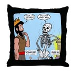 Uzzah's Very Bad Day Throw Pillow