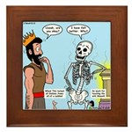 Uzzah's Very Bad Day Framed Tile