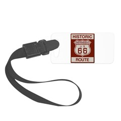 Helendale Route 66 Small Luggage Tag