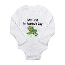 My First St. Patrick's Day Body Suit