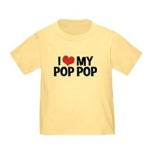 I Love My Pop Pop T