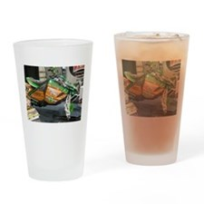 121 Artic Cat Snowmobile Drinking Glass