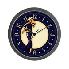 Pinup Girl Sailor Wall Clock