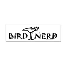 Birdwatching Car Magnet 10 x 3