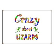 Crazy About Lizards Banner