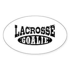 Lacrosse Goalie Decal