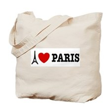 I Love Paris Tote Bag