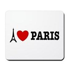 I Love Paris Mousepad