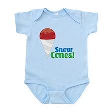 Snow Cones Infant Bodysuit