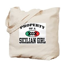 Property of a Sicilian Girl Tote Bag