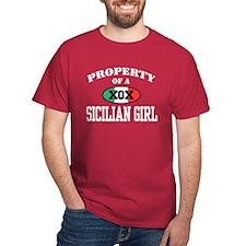 Property of a Sicilian Girl T-Shirt