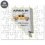 Area 51 Perimeter Patrol Puzzle