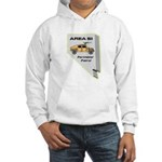 Area 51 Perimeter Patrol Hooded Sweatshirt
