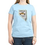 Area 51 Perimeter Patrol Women's Light T-Shirt