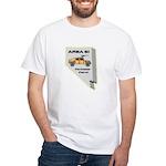 Area 51 Perimeter Patrol White T-Shirt