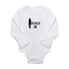 DOGS, nfp Long Sleeve Infant Bodysuit