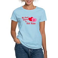 My Heart Belongs To T-Shirt