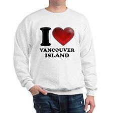 I Heart Vancouver Island Sweatshirt