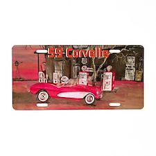 1959 Convertible Aluminum License Plate