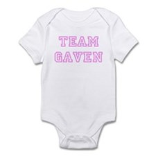 Pink team Gaven Infant Bodysuit
