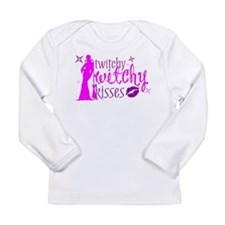 ™ Twitchy Witchy Kisses Long Sleeve Infant T-Shirt