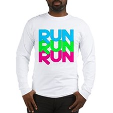 Run Run Run Long Sleeve T-Shirt
