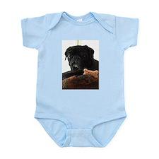 Onyx the Pug Infant Bodysuit