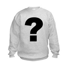 question mark.png Sweatshirt