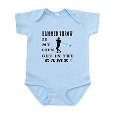 Hammer Throw Is My Life Infant Bodysuit