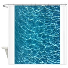 Cool Pool Water Shower Curtain
