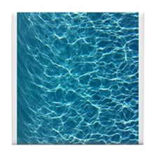 Cool Pool Water Tile Coaster