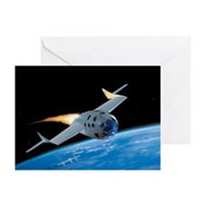 SpaceShipOne, artwork - Greeting Cards (Pk of 20)