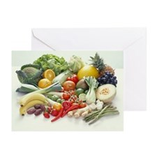 Fruits and vegetables - Greeting Cards (Pk of 20)