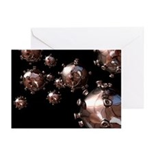 HIV particles - Greeting Cards (Pk of 20)