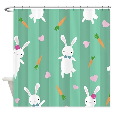 Http Www Cafepress Ca Easter Rabbits Shower Curtain 772578037