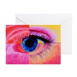 Human eye - Greeting Cards (Pk of 20)