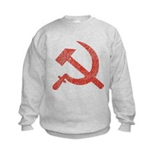Hammer and Sickle Red Splatter Sweatshirt