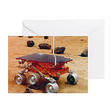 Model of the Mars Pathfinder rover Sojourner - Gre