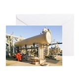 Oil refinery worker - Greeting Cards (Pk of 20)