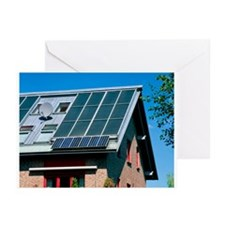 Solar technology, Germany - Greeting Cards (Pk of
