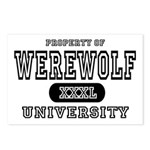 Werewolf University Property Postcards (Package of